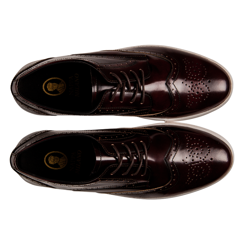 Foster Brogues Maroon