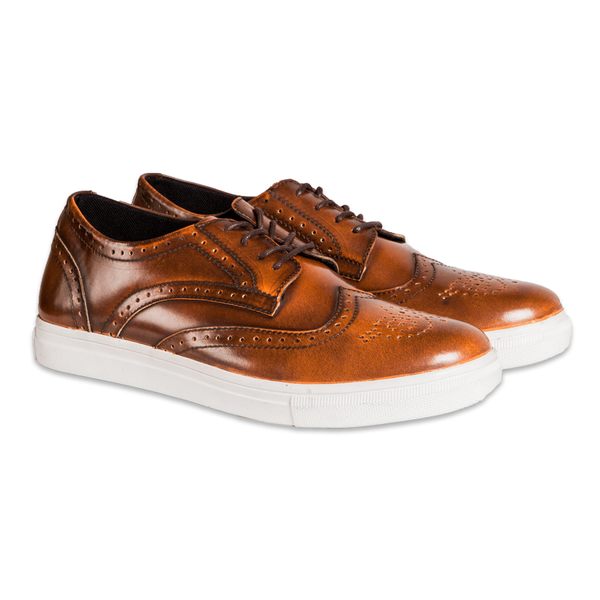Foster Brogues Tan