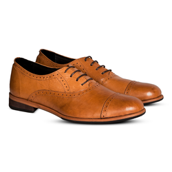 Gilly Brogues Tan Women
