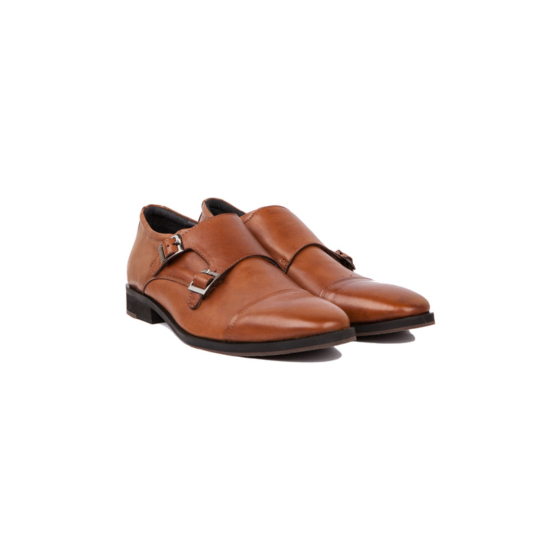 Lobb Monkstrap Tan