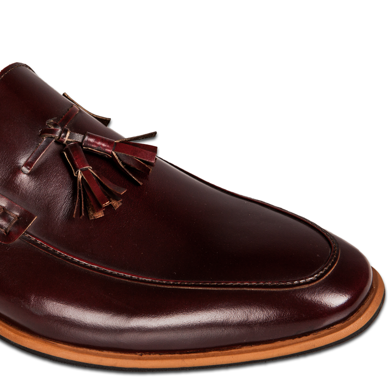 Men's Tassel Maroon