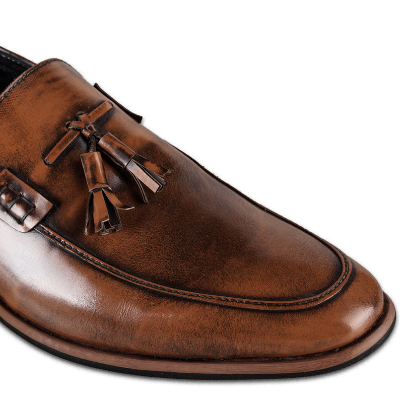 Men's Tassel Tan