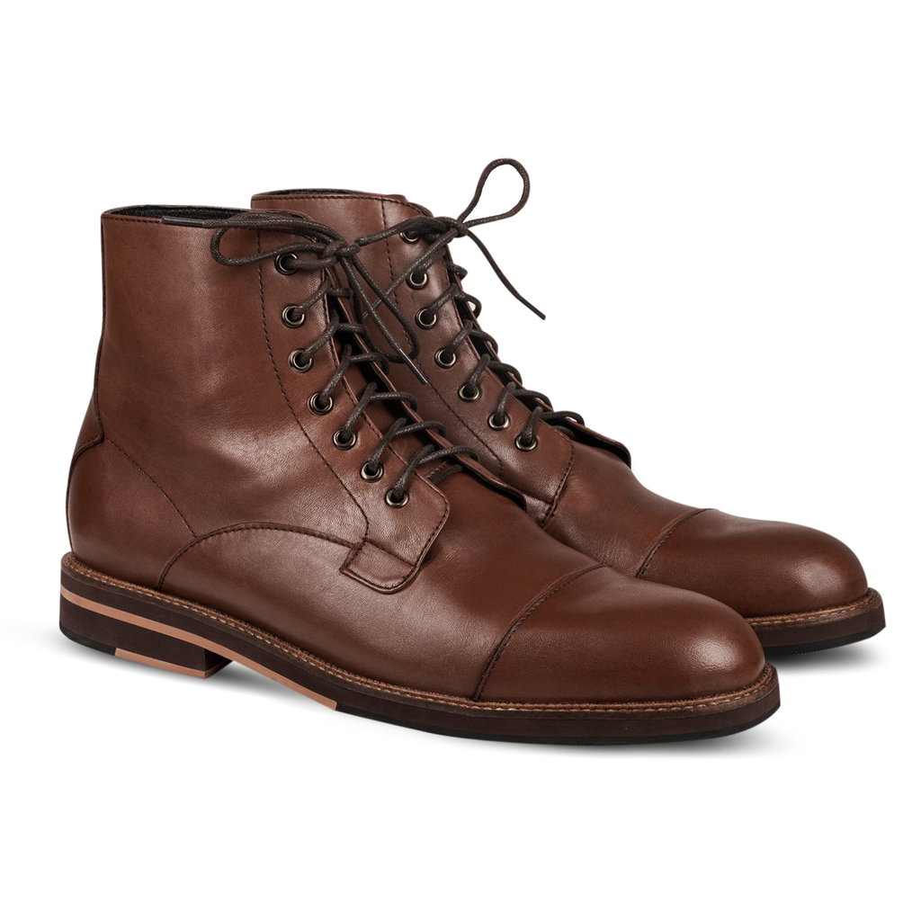 Neo Plain Boots Brown