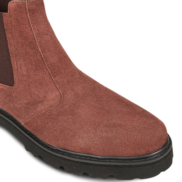 Pam Chelsea Boots Brown Suede ( Women )