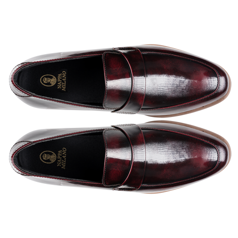 Salva Loafers Maroon