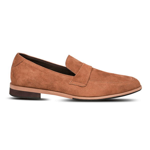 Salva Loafers Suede Tan (Women)