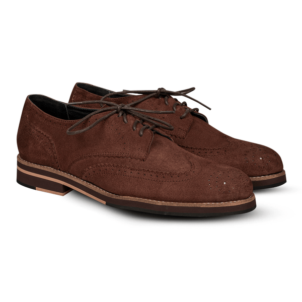 Blake Brogues Suede Brown