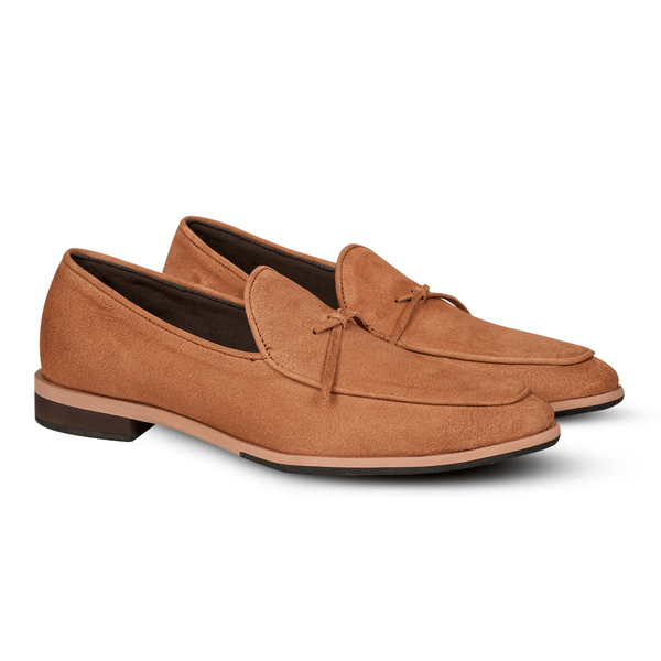 Salva Ribbon Suede Tan (Women)