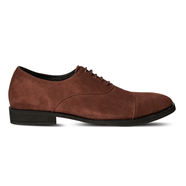 Lobb Oxford Suede Brown