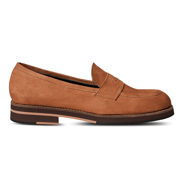 Blake Penny Loafers Suede Tan