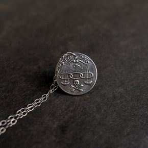 Oddfellows Secret Society Pendant