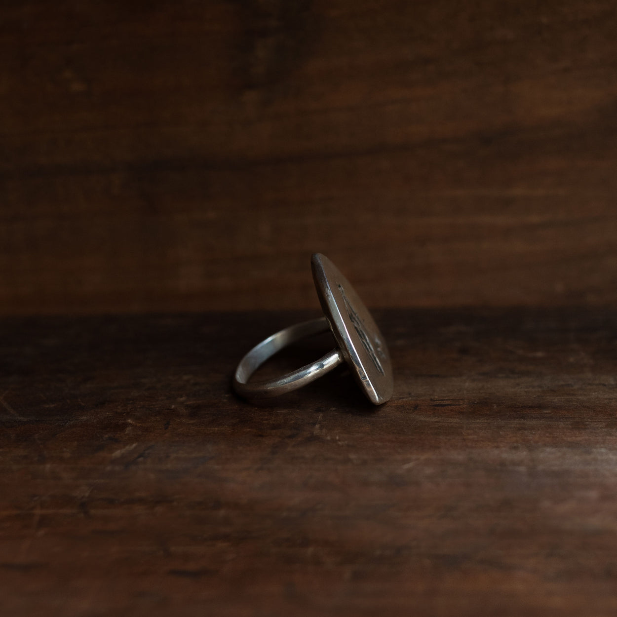 Tomahawk & Feather Ring