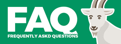 NEW Frequently Asked Questions Page