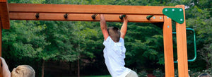How to Set Up Monkey Bars in Your Backyard