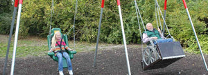 What You Need to Have a Wheelchair Swing Installed in a Playground
