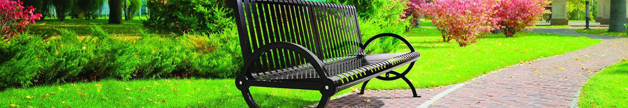 Premium Park Benches, Tables & Ammenities