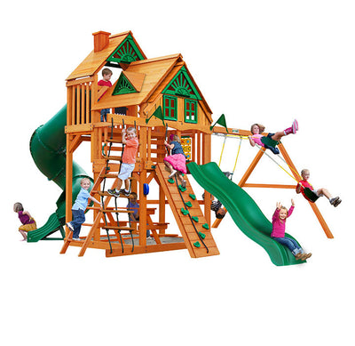 Residential Playgrounds & Play Sets | Wooden Swing Sets | Backyard Swing Sets