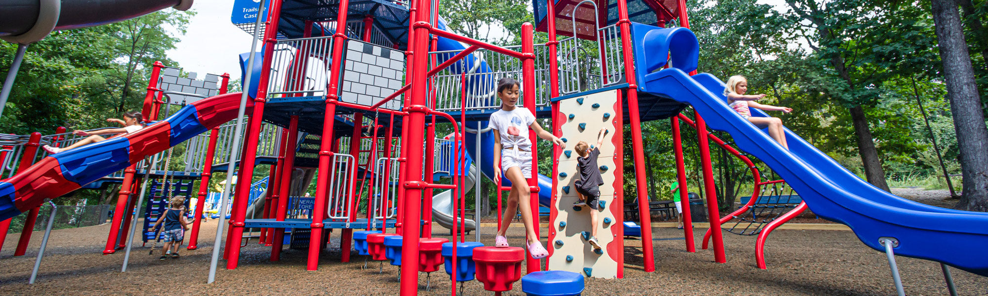 Commercial Playgrounds from WillyGoat.com