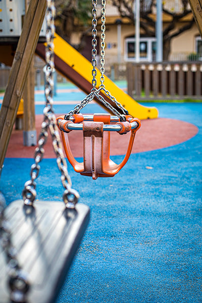 poured in place rubber low maintenance safety surfacing options, easy installation and good accessibility