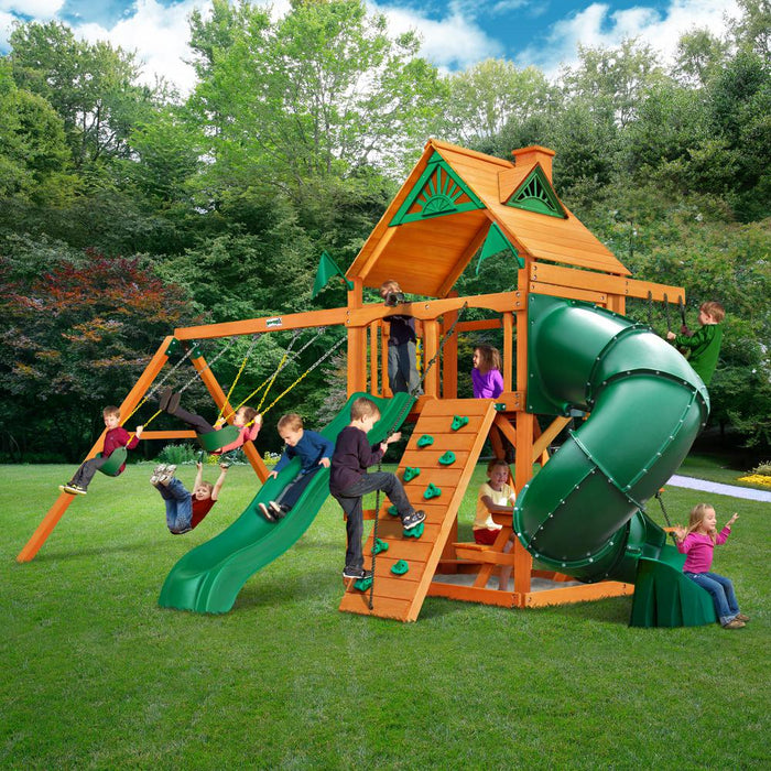Mountaineer AP Wooden Swing Set