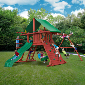 Sun Valley I Wooden Swing Set