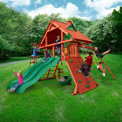 Sun Palace Extreme Wooden Swing Set