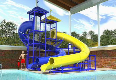 Commercial Water Slide 207