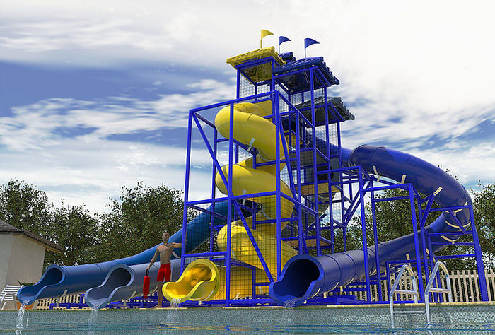 Commercial Water Slide 307