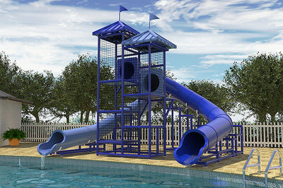 Commercial Water Slide 206