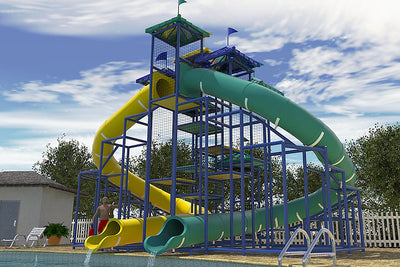 Commercial Water Slide 305