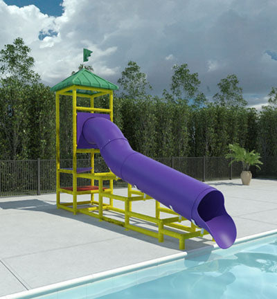 Columbia River Commercial Water Slide