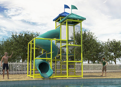 Commercial Water Slide 203
