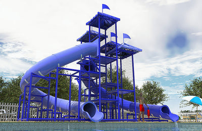 Commercial Water Slide 303