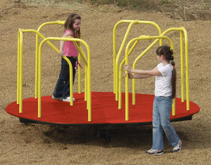 Merry Go Round, Various Colors (6', 8', or 10' Diameters) | WillyGoat Playground & Park Equipment
