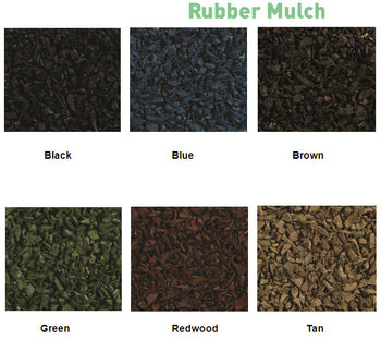 Pinnacle Soft Bounce Rubber Mulch - Size To Fit