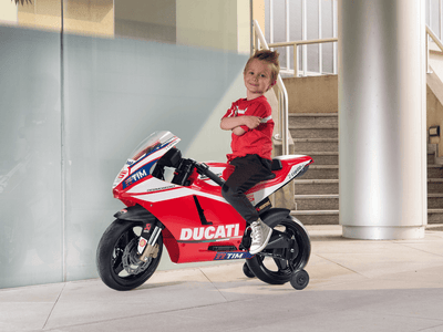 Ducati GP Electric Riding Vehicle | WillyGoat Playground & Park Equipment