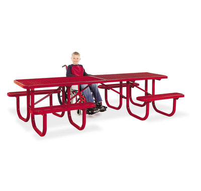 Extra Heavy Duty ADA Shelter Table 10 Foot