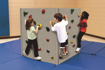 Tyke Tower Climbing Wall With Mats