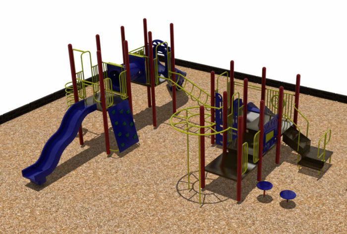 Congaree Triple Deck WillyGoat Playground