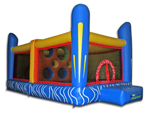 Commercial Grade Jump N Dodgeball Inflatable Bouncer