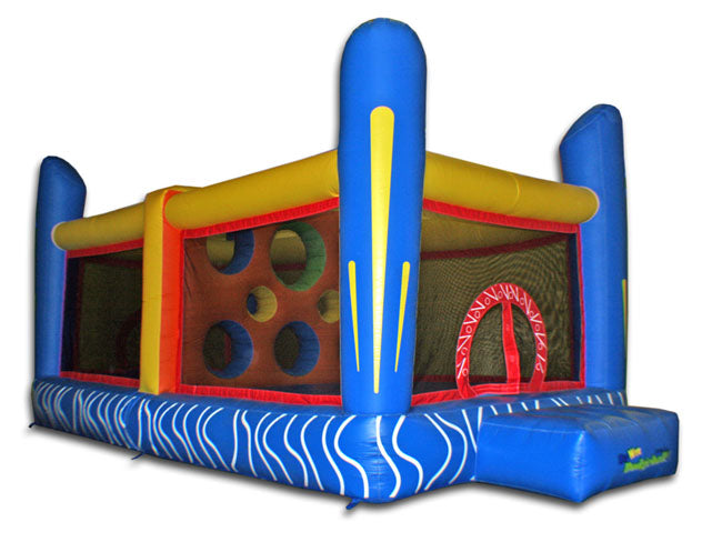 Commercial Grade Jump'n Dodgeball Inflatable Bouncer