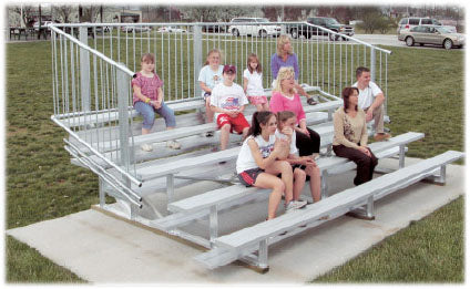 Bleachers Customized to your Size and Specifications
