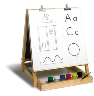 Four Way Tabletop Easel