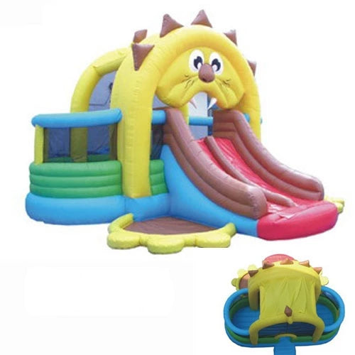 Commercial Grade Lions Den Inflatable Bouncer