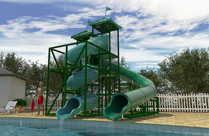Mobile Bay Water Slide
