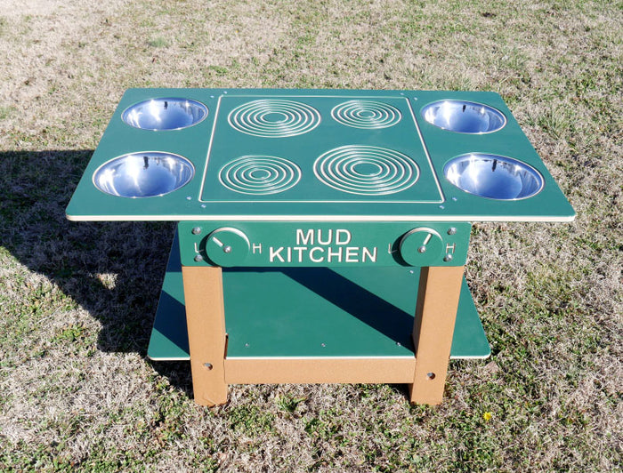 Island Mud Kitchen Commercial Play Event