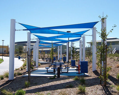 Sail Shade Structure Custom Size