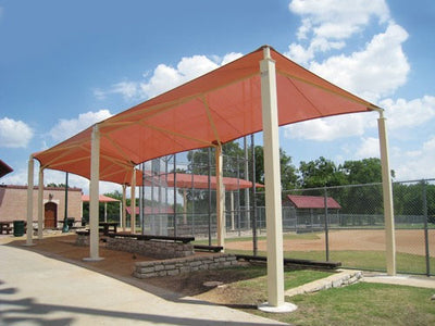 Wrap Around Shade Structure Custom Size