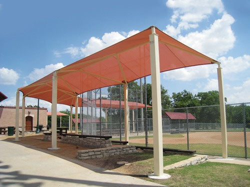 Wrap Around Shade Structure (Custom)