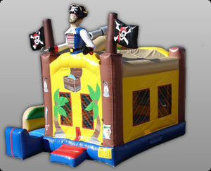 Commercial Grade 4 In 1 Pirate Inflatable Bouncer